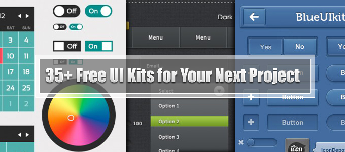 35+ Free UI Kits for Your Next Project